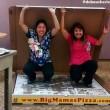 Pizza domicilio gigantesca per 16 persone