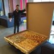 Pizza domicilio gigantesca per 16 persone5