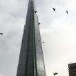 YOUTUBE Base jumper si getta dallo Shard di Londra FOTO 8