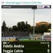 Andria-Foggia 1-0 Sportube: streaming diretta live su Blitz
