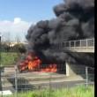 Autostrada A1 chiusa: tir in fiamme tra Caianello e Capua4