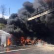 Autostrada A1 chiusa: tir fiamme tra Caianello e Capua FOTO8