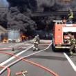 Autostrada A1 chiusa: tir fiamme tra Caianello e Capua FOTO2