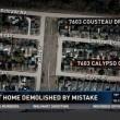 Casa demolita per...errore di Google Maps VIDEO