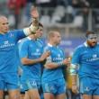 Sei Nazioni di Rugby, gli azzurri nella foto Ansa