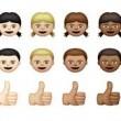 Emoji, potrai scegliere genere e colore dei capelli
