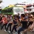 Flashmob blocca traffico in India