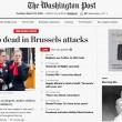 Bruxelles, aeroporto: passeggeri sotto choc dopo bombe27