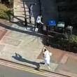 YOUTUBE Vestito da islamico spara sui passanti a Londra 3