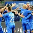 Italia-Germania, Insigne nella foto Ansa