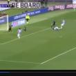 Lazio-Atalanta 2-0, la prima rete di Klose