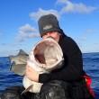 Norvegia, britannico pesca merluzzo da 42 chili