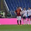 Roma-Fiorentina 4-1: FOTO. El Shaarawy-Salah-Perotti, Ilicic