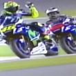 Moto Gp, Lorenzo pole. Tensione in pista con Rossi