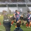 Rugby, rissa in campo tra Marina francese e inglese