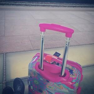 Accessori di una viaggiatrice