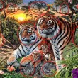 Trova le tigre nella FOTO 2