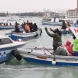 Corteo sull'acqua contro Tav e grandi navi a Venezia6