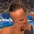 Federica Pellegrini vince e piange per la zia