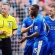 Leicester-West Ham 2-2, Ranieri pari al 95', Vardy espulso 01