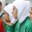 Calciatrici col velo debuttano: in campo Iran-Usa4