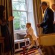 Kate Middleton, principino George saluta Obama3