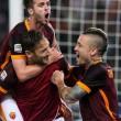 Roma-Torino 3-2: highlights, pagelle e foto. Totti doppietta