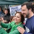 """Salvini sotto casa Fornero: """"Chieda scusa per legge3"""