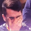 Roma-Torino, tifoso piange dopo gol Francesco Totti VIDEO