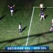 Diakite video gol Sampdoria-Lazio con Goal Line Technology_1