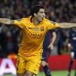Champions, Barcellona-Atletico Madrid 2-1: Suarez doppietta
