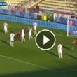 Carpi-Genoa 0-1, video gol: Pavoletti su assist di Dzemaili