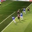 Sampdoria-Milan 0-1, video gol: Bacca. Dodo in fuorigioco?_1