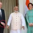 William, stretta mano micidiale del premier indiano