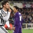 Fiorentina-Juventus 1-2: foto-pagelle-highlights. Morata gol_7