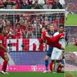 Frank Ribery video gol rovesciata bayern eintracht_2