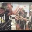 Juventus festa scudetto 2016 spogliatoio video_2