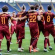 Lazio-Roma 1-4, pagelle-highlights-foto derby: Florenzi...