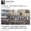 """Grillo Blog: """"Marea umana anti Renzi"""". Era foto piazza Papa"""