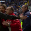 Maurizio Sarri espulso durante Udinese-Napoli