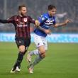 Sampdoria-Milan 0-1, video gol: Bacca. Dodo in fuorigioco?_5