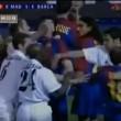 YOUTUBE Zidane contro Luis Enrique, rissa in Real-Barcellona 02