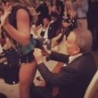 Emilio Fede e la lap dance della drag queen Ines Rodriguez 02