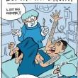 Marco Verratti simula anche quando dorme: vignetta L'Equipe 01