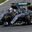 Hamilton e Rosberg incidente primo giro GP Spagna 02Hamilton e Rosberg incidente primo giro GP Spagna 02