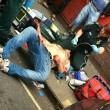Accoltellato, infermiera fuori servizio lo salva2