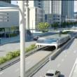Bus del futuro passa sopra le auto4