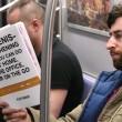 Copertine libri imbarazzanti, lo scherzo in metro5