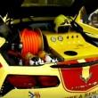 Corvette da 340 km/H carro dei pompieri a Dubai