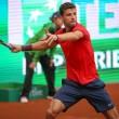 YOUTUBE Tennis, Dimitrov distrugge tre racchette in gara3